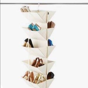 Umbra origami hanging organizer purse shoes